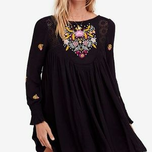 NWT FP Boho Mohave Embroidered Mini FinalPrice